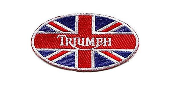 Entreprise britannique Patch Biker Triumph 112 mm x 55 mm