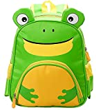 Sanyouletoo Kindergarten Schultasche Cartoon Frosch Tiger Kinder Schultasche Junge Mädchen Rucksack Schulrucksack Jungen Teenager School Bags for Kindergarden Babyrucksack Mädchen Rucksäcke Teenager