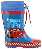 Cars Jungen Boys Kids Boots Rainboots Gummistiefel, Blau (Blue), 27 EU