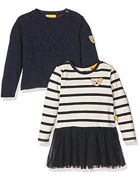 Steiff Mädchen Set 2tlg. Kleid 1/1 Arm + Pullover