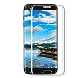Galaxy S7 edge Panzerglas Schutzfolie, Parsion [1 Stück] Displayschutzfolie für Samsung Galaxy S7...