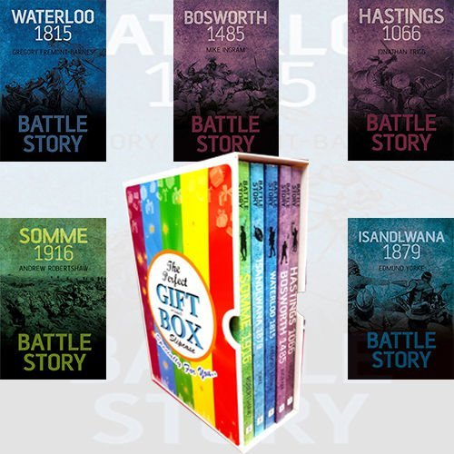 Battle Story Collection 5 Books Bundle Gift Wrapped Slipcase Specially For You