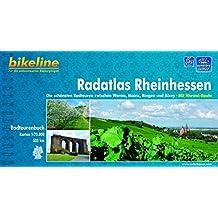 bikeline Radtourenbuch, Radatlas Rheinhessen: Die schönsten Radtouren zwischen Worms, Mainz, Bingen und Alzey. Mit Hiwwel- Route, 1 : 75 000, wetterfest/reißfest, GPS-Tracks Download