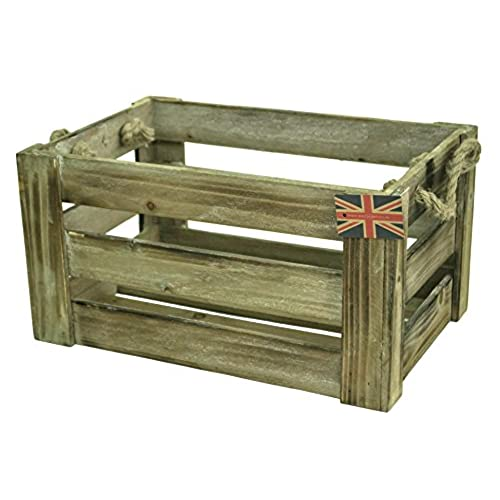 small wooden crate amazoncouk - Small Wooden Crates