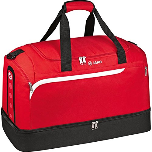 Jako Erwachsene Sporttasche Performance rot/Weiß/Schwarz 60 x 35 x 43 cm