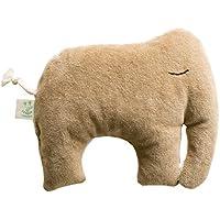 Elefant mit Zirbenspänefüllung, Kuscheltier, Plüschtier, Stofftier, Zirbenkissen, Duftkissen, Zierkissen