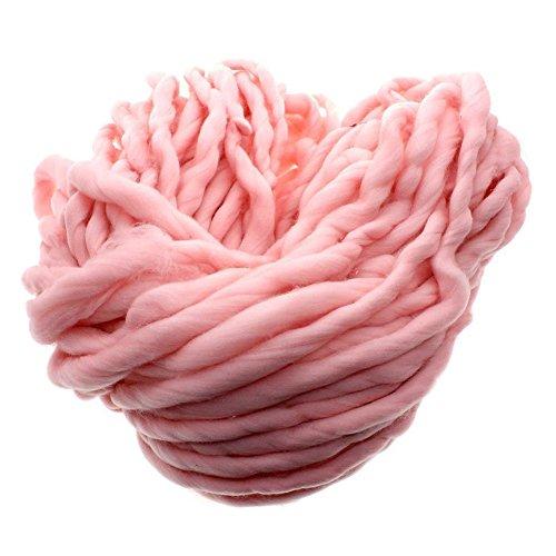 Bluelans® - Grosse laine douce et très épaisse à tricoter 100 % acrylique 250g / 35 m