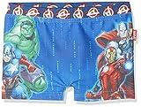 Avengers assemblee, Pantaloncini da Mare Bambino, Blu (Blue 445), 4 Anni