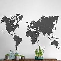 TilkiDünyası Dünya Haritası, Dünya Atlası Çocuk ve Bebek Duvar Sticker