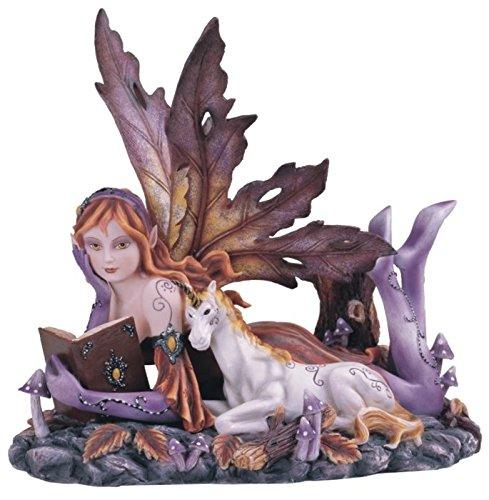 stealstreet-ss-g-91564-fairy-with-unicorn-collectible-figurine-decoration-statue-decor-purple