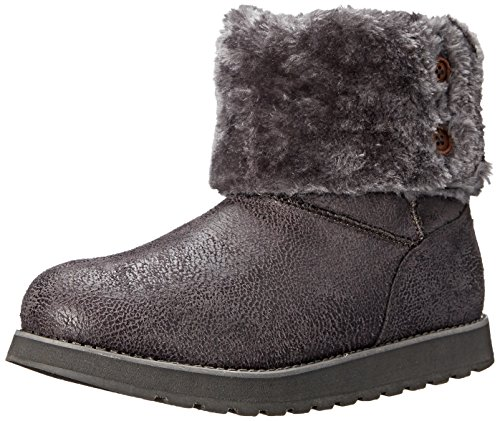 Skechers - Keepsakes Leather-esque, Stivali Donna Charcoal