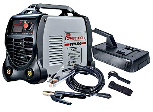Powertech MMA Digital Elektrodenschweißgerät Schweißgerät ARC IGBT PTW300-200A