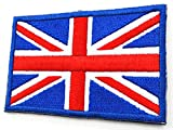 tacvasen bandera parche para planchar/coser bordado parches–muchos países, hombre, Spain - White Border