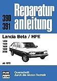 Lancia Beta  HPE   ab 1972 (Reparaturanleitungen)