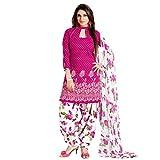 Li Te Ra Traditional Look Pink Cotton Dr...
