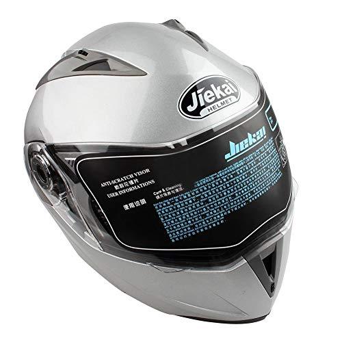 Casco de Moto Doble Visera
