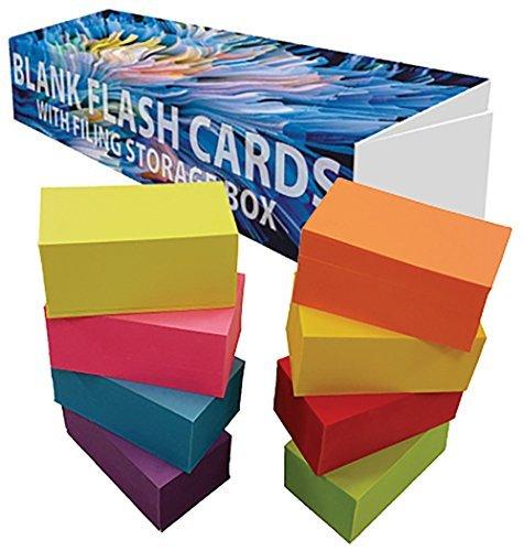 Debra Dale Designs-blanko Flash Karten-8,9x 5,1cm-8leuchtenden Farben-Extra schwere 100# Bezug Karte Lager-253GSM-.0118Dick Multi Unpunched Gsm-flash