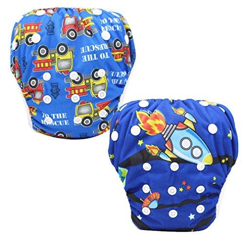 JT-Amigo Reusable Baby Swim Nappy Diapers (Pack Of 2)