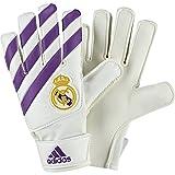 adidas Real Madrid Lite, Guantes para Niños, Blanco (Blanco/Mornat / Balcri), 4