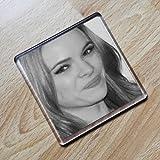 DANIELLE PANABAKER - Original Art Coaster #js001