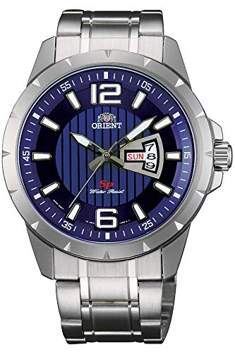 Orient Mens Analogue Quartz Watch with Stainless Steel Strap FUG1X004D9
