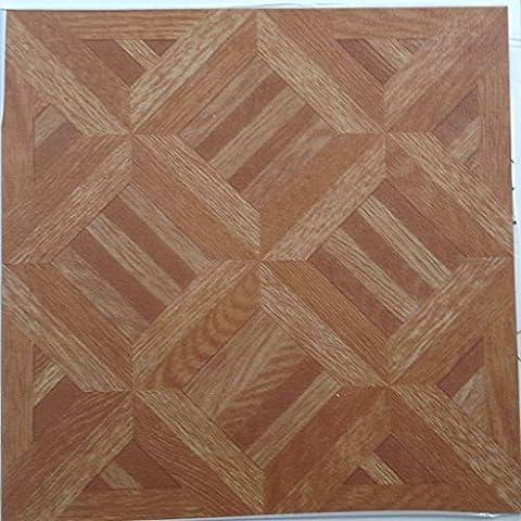 50 self adehsive vinyl floor tiles wood effect