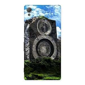Cute Speaker Of Rocks Back Case Cover for Xperia Z4