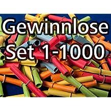 Röllchenlose bunt gemischt, Set 1-1000