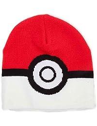 Pokemon Beanie Hat Poke Ball logo catch em all Official One Size 99d0d4b65c77