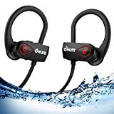 OHUM ACTIVE BUD S800 Bluetooth Headphones with Pouch, Best Wireless Earbuds for Sports