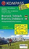 Bruneck /Toblach /Hochpustertal - Brunico /Dobbiaco /Alta Pusteria: Wanderkarte mit Aktiv Guide, Rad- und alpinen Skirouten. GPS-genau. Dt. /Ital. ... 1:50 000 (KOMPASS-Wanderkarten, Band 57)