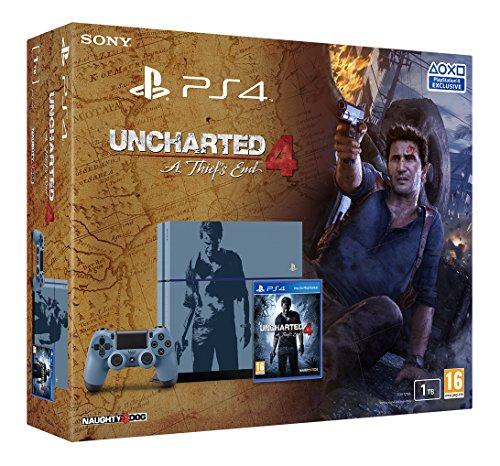 Sony PlayStation 4 1TB Uncharted 4: A Thief's End Special Edition Console