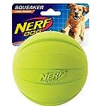 Nerf Dog Squeak Ball, 4.25-Inch, Red 9