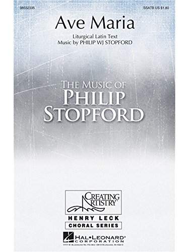 Philip Stopford: Ave Maria. Partitions p...