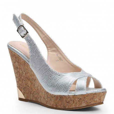 ideal-wedge-sandals-shoes-reptile-effect-tilia-silver-size-5