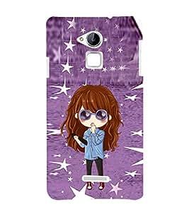EPICCASE stylish lady Mobile Back Case Cover For CoolPad Note 3 (Designer Case)