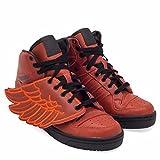 adidas - Hi-Tops - Wings B-Ball Shoes - Rot - 40 2/3