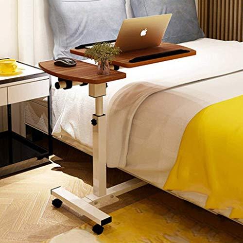 Computer Desk Laptop Schreibtisch für Bett, Bett Schreibtisch | Frühstück Serviertablett | Tragbarer Picknicktisch, Halterung aus Aluminiumlegierung (Farbe: A), b -