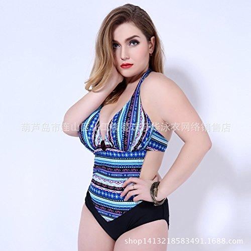 Mme summer maillot de western saika sa capture grand maillot de bain Maillot de bain bikini-YU&XIN Blue