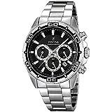 FESTINA Herren-Armbanduhr Chronograph Quarz Edelstahl silber Sport D1UF16766/3
