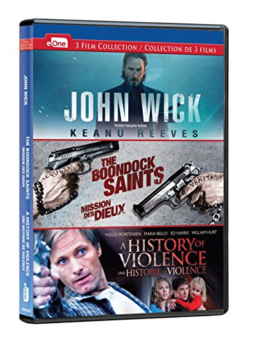 John Wick/Boondock Saints/History of Violence: DVD Triple Feature (Bilingual)