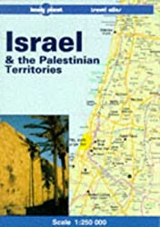Israel & the Palestinian Territories travel atlas (Lonely Planet Travel Atlas)