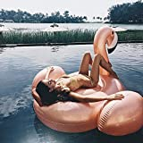 SKY TEARS Aufblasbarer Flamingo Schwimmring Luftmatratzen Spielzeug Pool Schwimmen Float