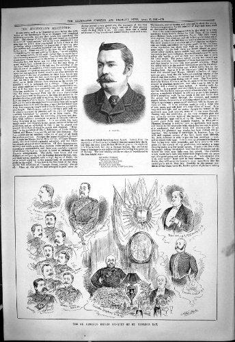Estremità 1887 di Duncan Beeching dell'Uccello di Banchetto del Fucile di Lloyd George del Ritratto Ococks Lione