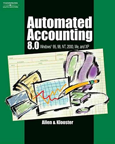 [(Automated Accounting 8.0 : Windows 95,98, NT, 2000, Me and XP)] [By (author) Allen Warren ] published on (June, 2002)