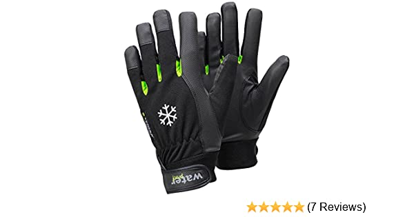 TEGERA Ejendals 517 Warm Winter Fleece Lined Waterproof Windproof Thermal Gloves