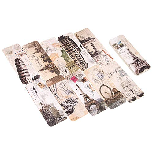 AIEX Bookmarks Set Retro Lesezeichen 30 Stück Vintage Style Lesezeichen Set für Frauen Männer