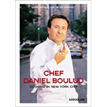 Chef Daniel Boulud. Cooking in New York City