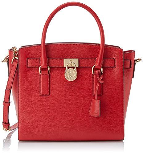 da989b6fc Michael Kors Hamilton, Bolso totes para Mujer, Rojo (Bright Red), 36.2