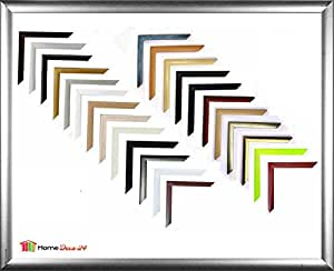 Palma MDF-Picture frame 48x74 cm (18,9x29,1 in) 74x48 cm Choice of colour: - Thin Moulding - Glossy Gold with Non Glare Acrylic Glass